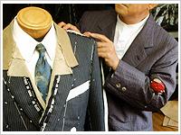 スーツの補正