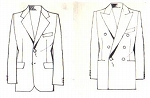 スーツのデザイン