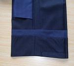 スラックスの裾芯